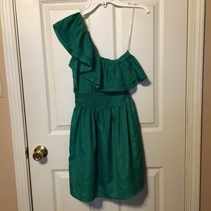 Body Central one shoulder dress size small